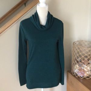 old navy cowl neck tunic sweater